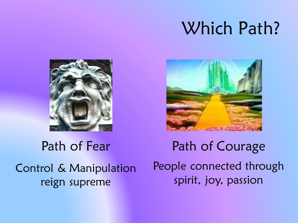 Which Path.