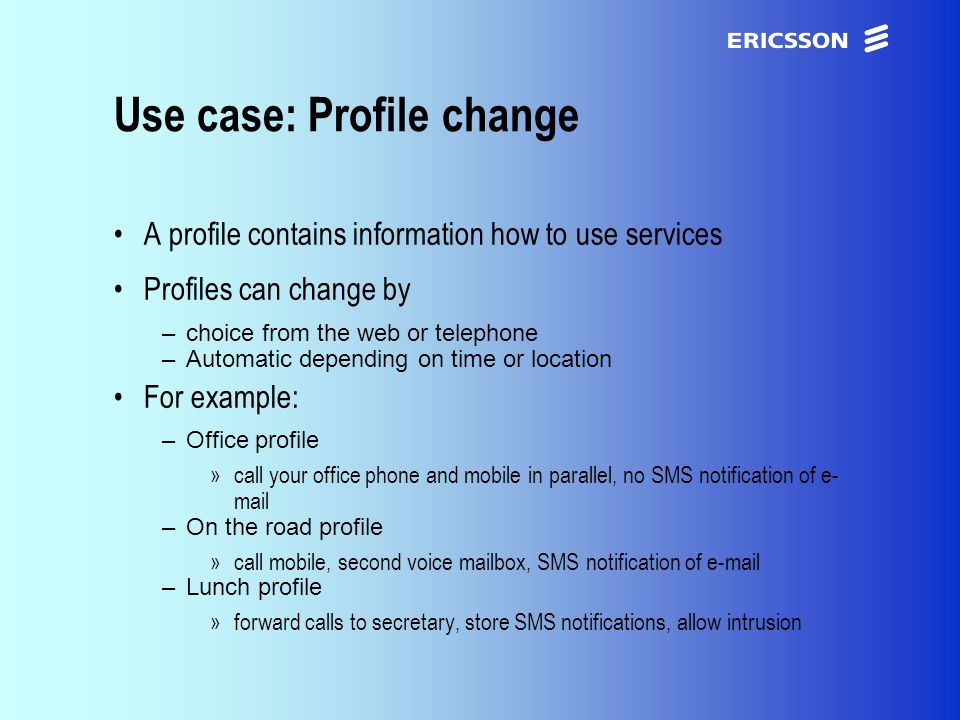 xxxxERICSSON Application Research Thank you for your interest.