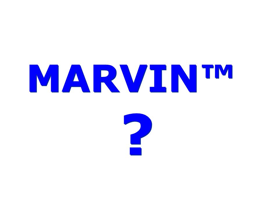 Software MARVIN MARVIN