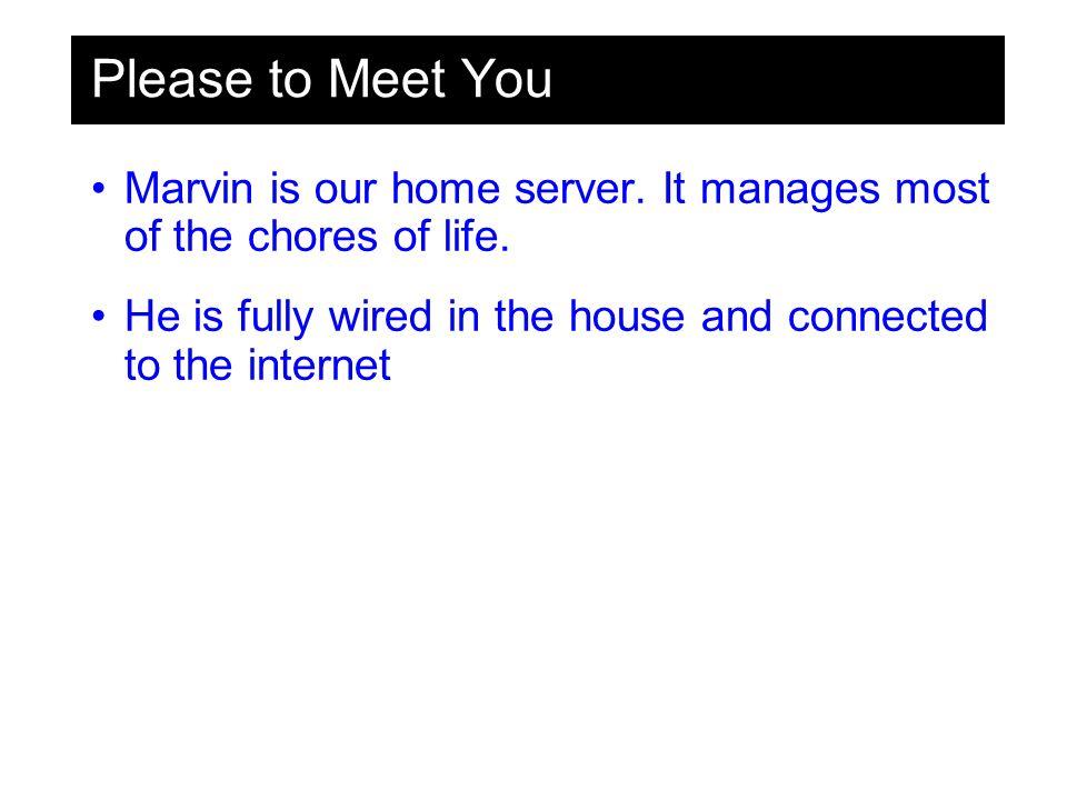 Software MARVIN ? MARVIN ?