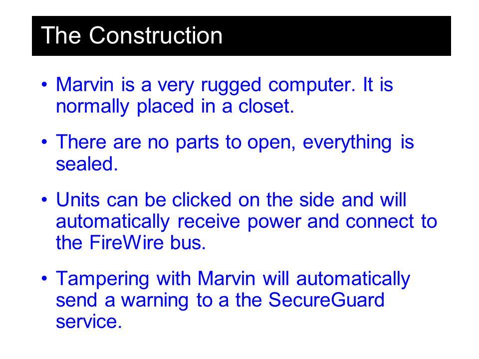 The Construction Locking system FireWire connection Power 110+220 Internet ADSL Slider Way to insert a new unit Ideas partly Maarten Legene