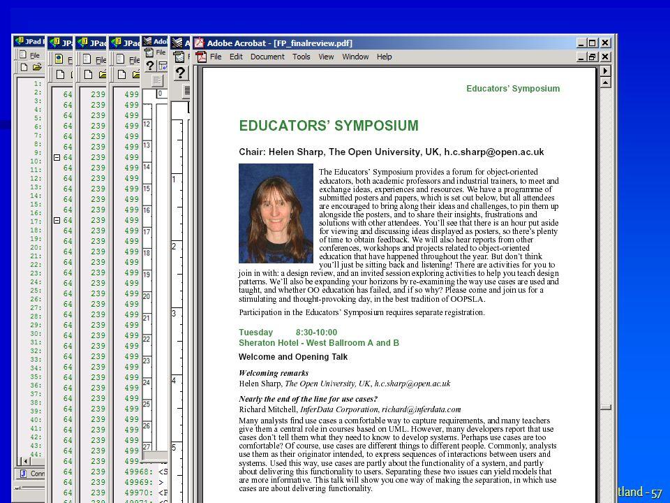 www.aQute.se - 2002 XML Portland - 57