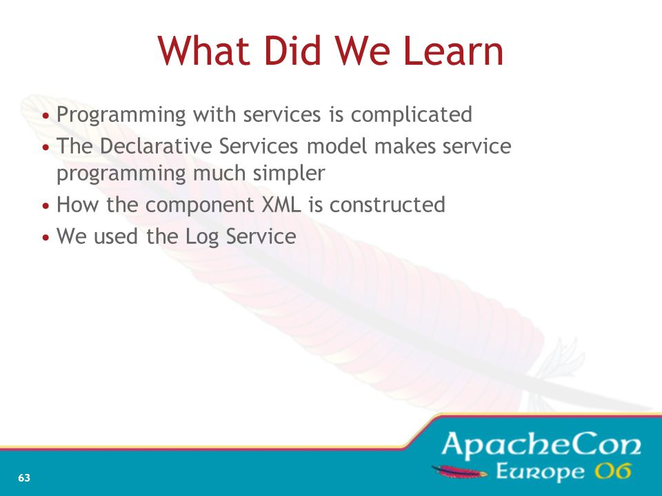 61 Add Declarative Services, Log, and Component
