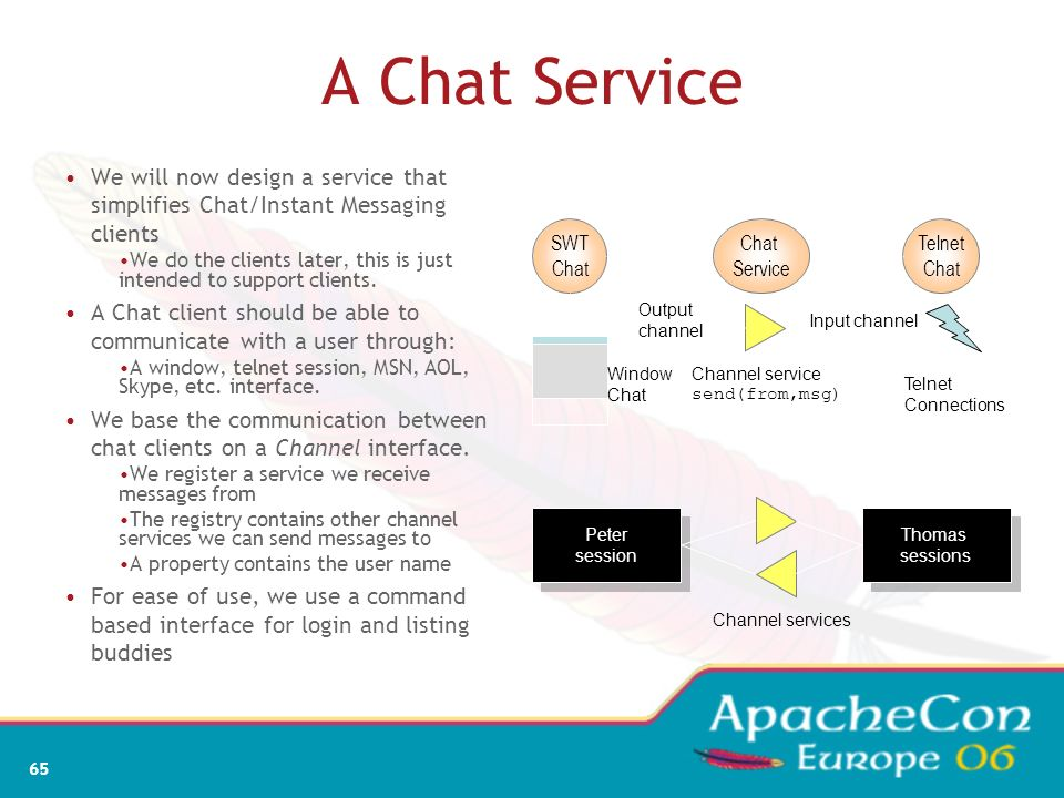 63 What Did We Learn Programming with services is complicated The Declarative Services model makes service programming much simpler How the component