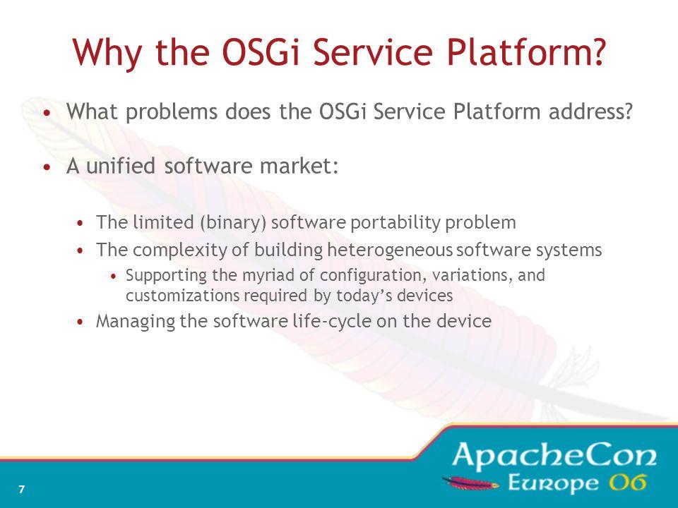 5 Section I - OSGi Background