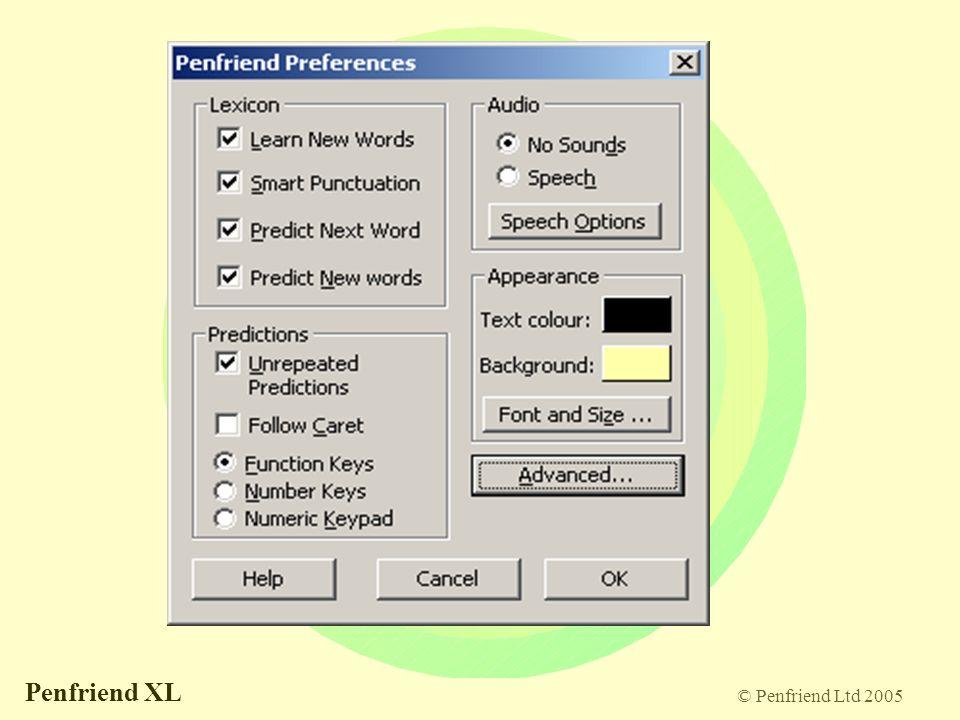 © Penfriend Ltd 2005 Penfriend XL