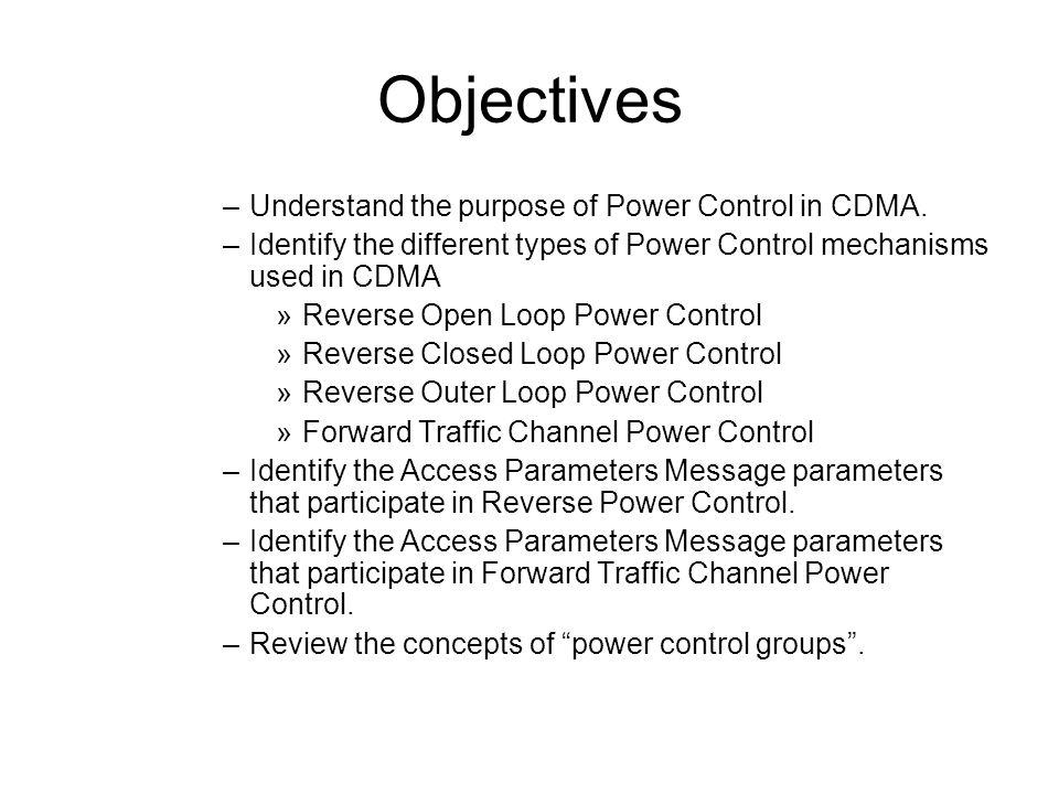 CDMA Power Control