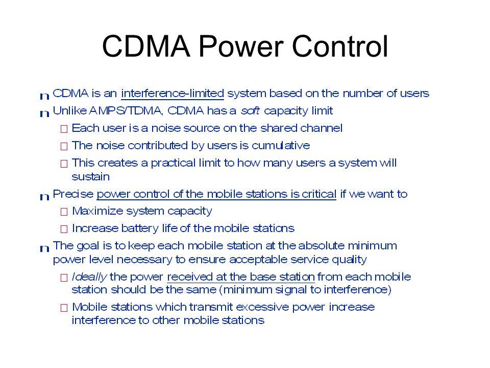 Reverse Loop Power Control
