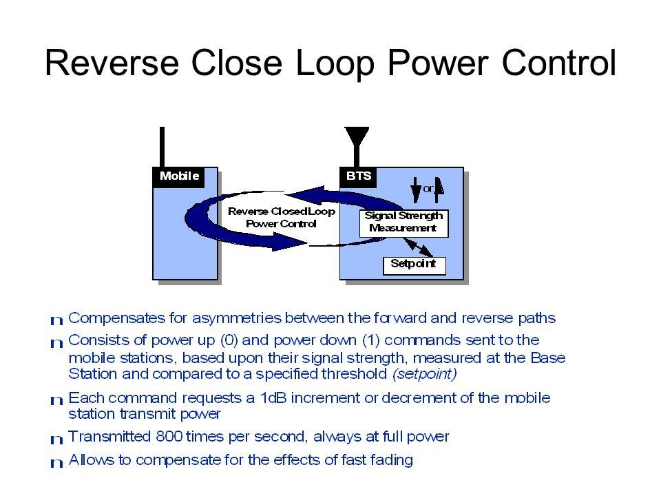 Reverse Close Loop Power Control