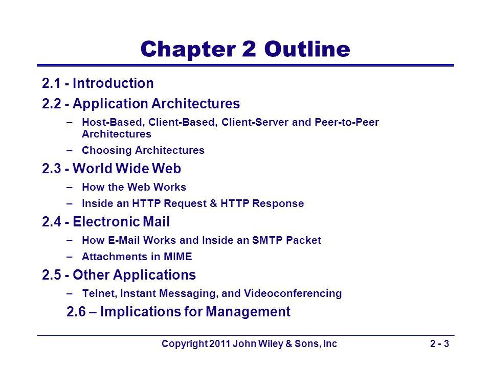 Copyright 2011 John Wiley & Sons, Inc2 - 34 Web-based e-mail