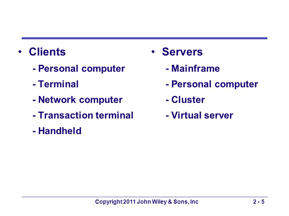 Copyright 2011 John Wiley & Sons, Inc2 - 26 How the Web Works