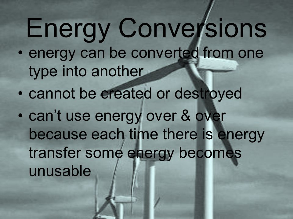 Second Law of Thermodynamics energy conversions generate heat –kinetic energy from random movement of atoms & molecules difficult to reuse to perform work lost to surroundings energy of aimless molecular movement –measure of disorder or randomness amount of disorder in a system is entropy Second Law of Thermodynamics energy conversions increase entropy in a system & reduce order