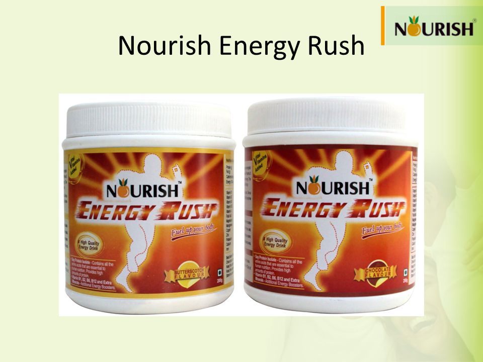 Nourish Energy Rush