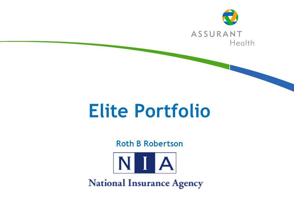 Elite Portfolio Roth B Robertson