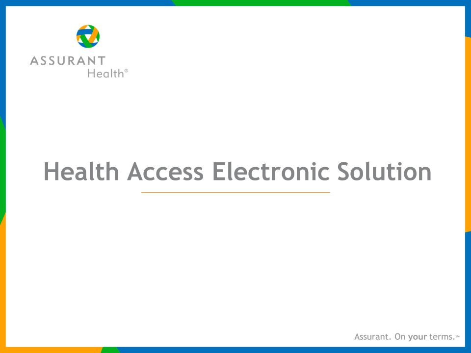 Health Access Electronic Solution