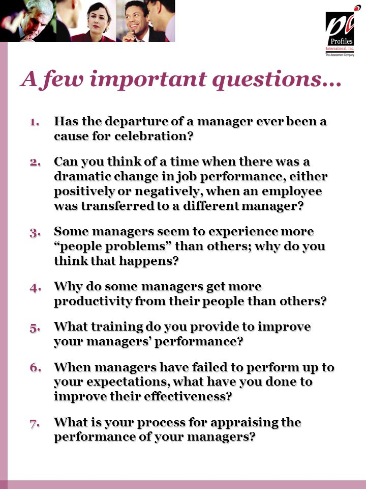 1.Has the departure of a manager ever been a cause for celebration.