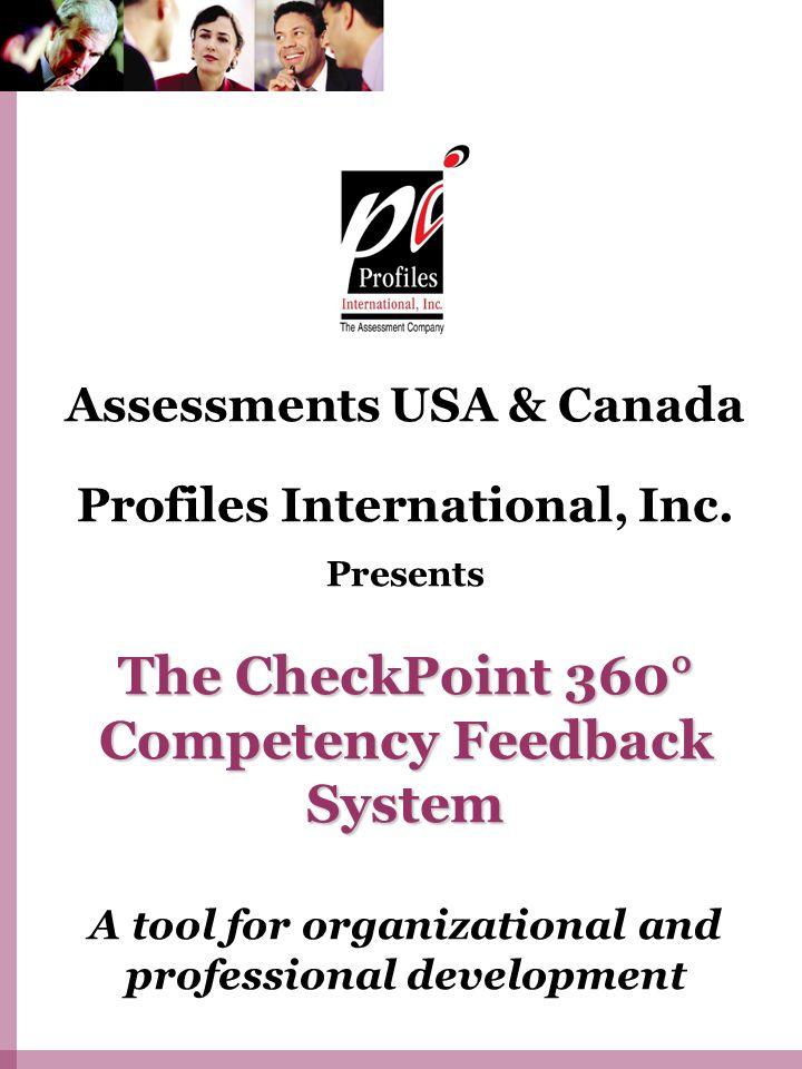Assessments USA & Canada Profiles International, Inc.
