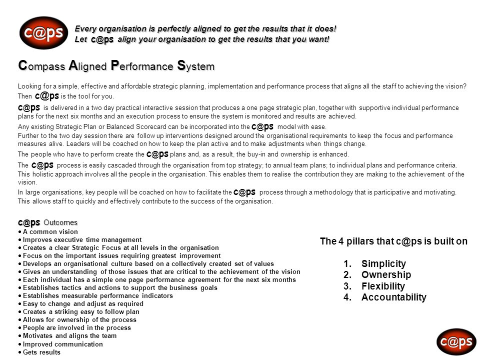 c @ ps Every organisation is perfectly aligned to get the results that it does! Let c @ ps align your organisation to get the results that you want! C