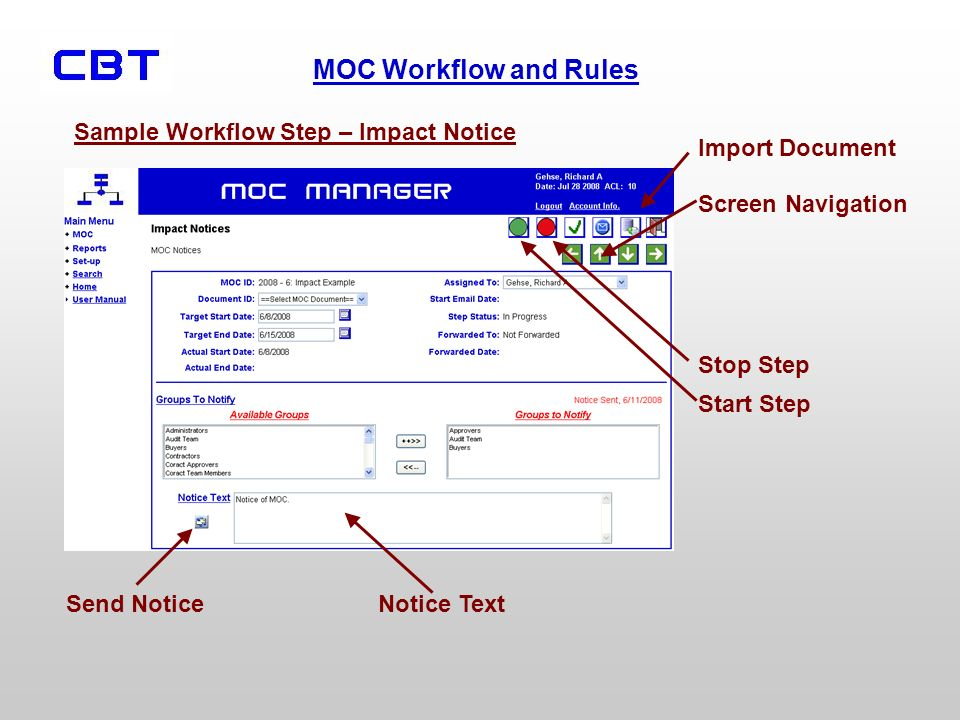 MOC Workflow and Rules Parent Steps Are Processed in Sequence.