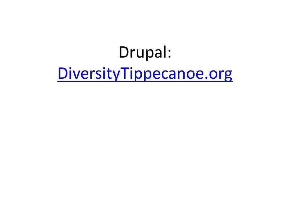 Drupal: DiversityTippecanoe.org DiversityTippecanoe.org