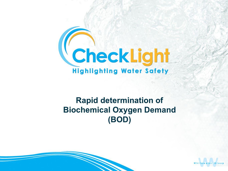 Rapid determination of Biochemical Oxygen Demand (BOD)