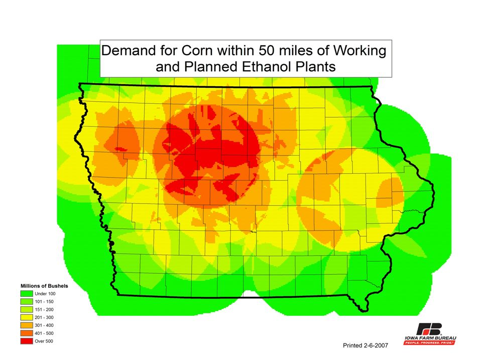 Pulling: Ethanol From Corn Where do we get all of these acres?