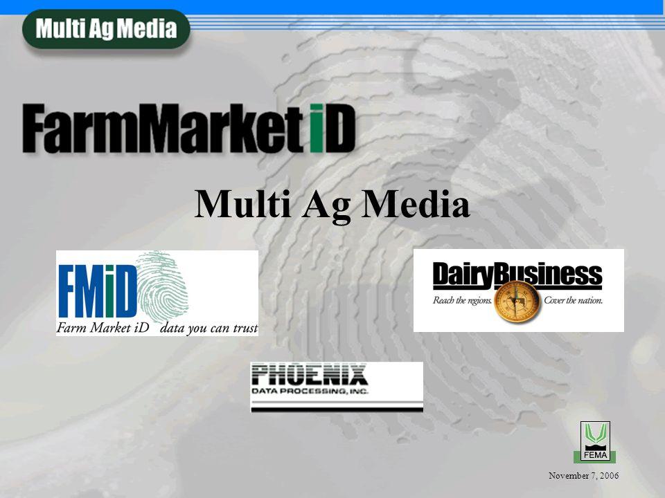 November 7, 2006 Multi Ag Media