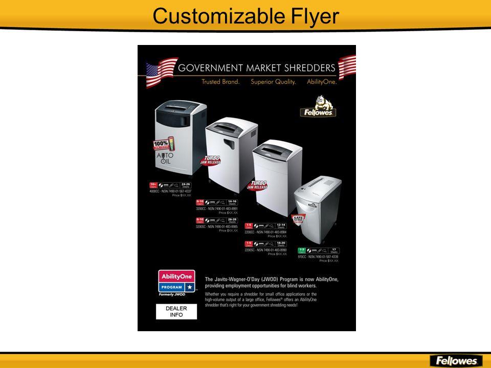 Customizable Flyer
