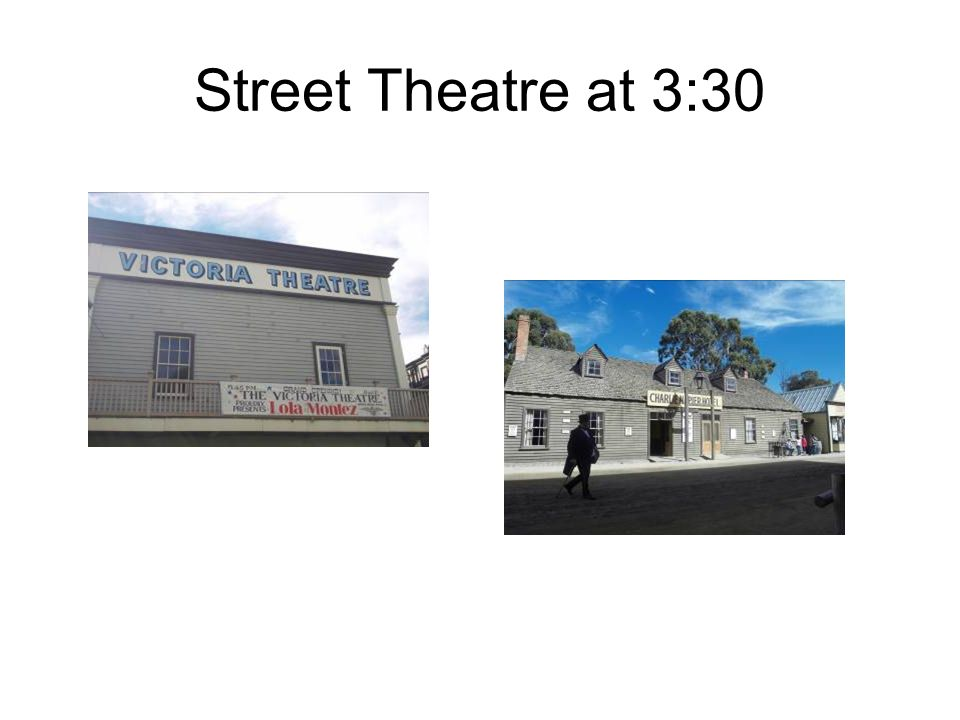 Street Theatre at 3:30