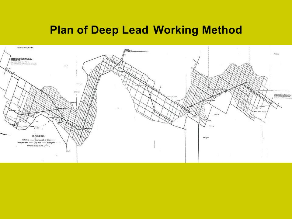 Plan of Deep Lead Working Method