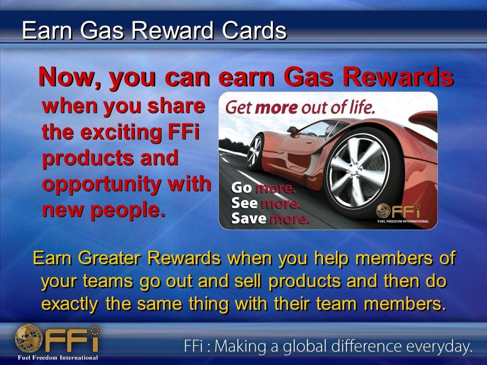 Earn Gas Reward Cards