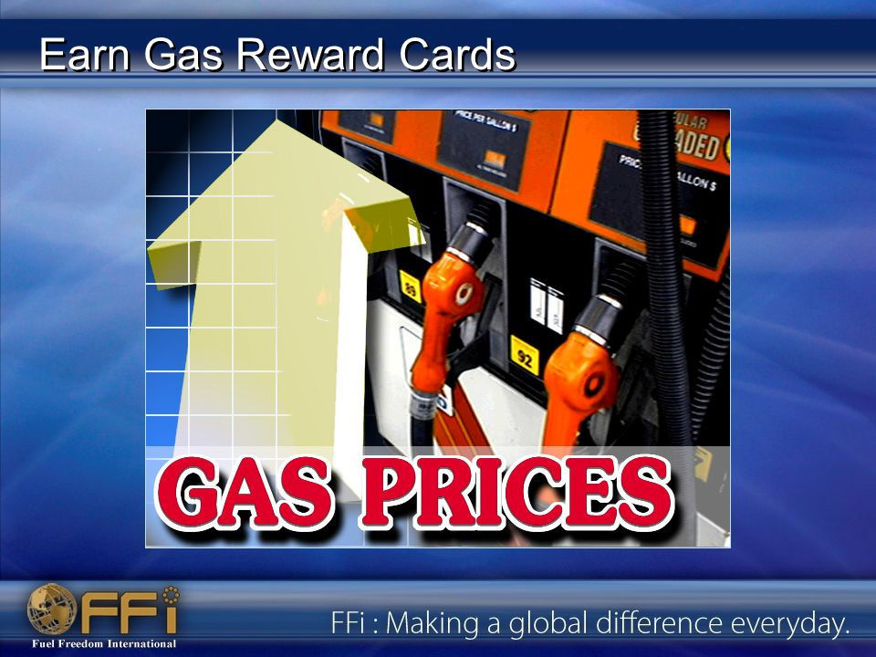 Earn Gas Reward Cards