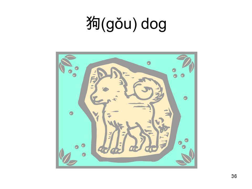 (gǒu) dog 36