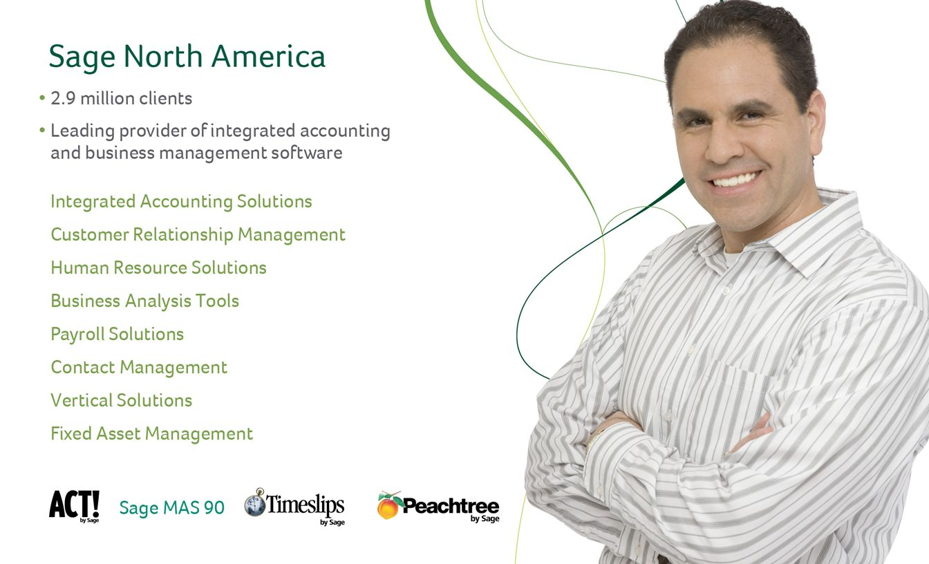 Sage Value in Partnership – our program is growing and offering multiple opportunities to partner in select areas and/or segments – Referral, Reseller and Channel Partner Arrangements Multi-Year Contracts No Admin Fee Channel Partner Portal Attractive Margins Custom Training Brian Muck Vice President - Indirect Distribution Sage Healthcare Division 4301 W.