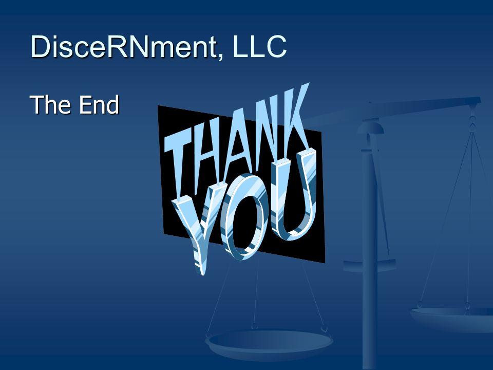 DisceRNment DisceRNment, LLC The End