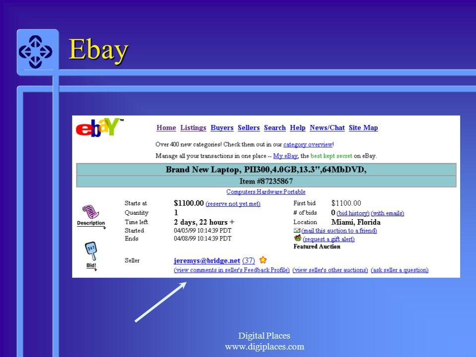 Digital Places www.digiplaces.com Ebay