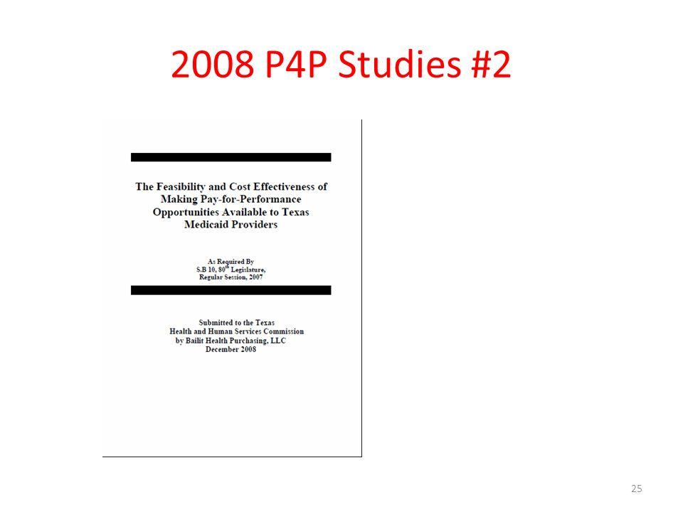 2008 P4P Studies #2 25