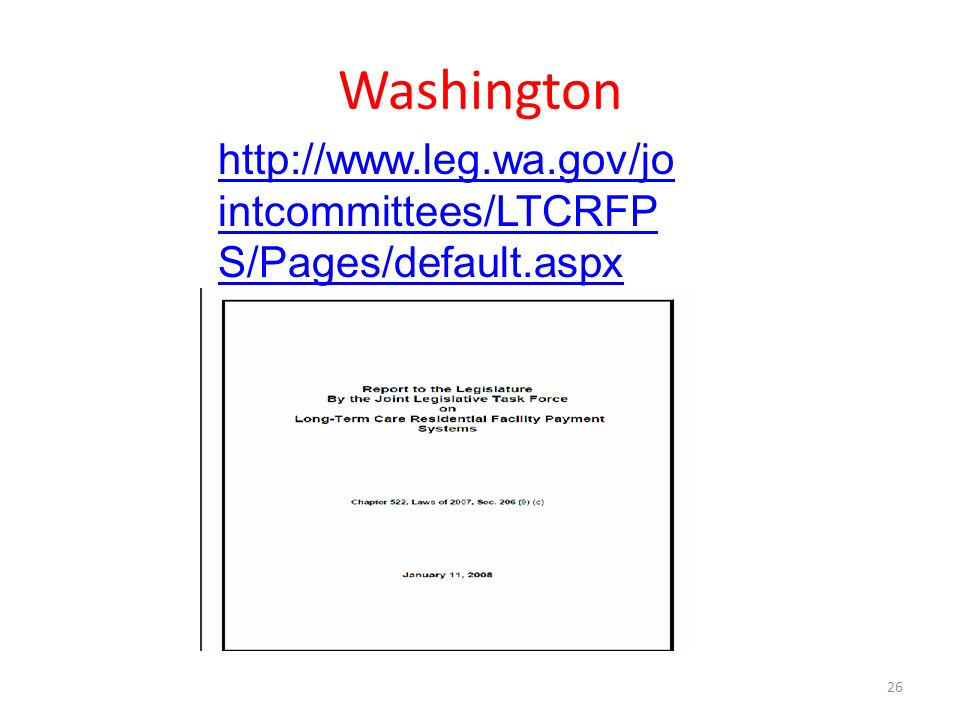 Washington 26   intcommittees/LTCRFP S/Pages/default.aspx
