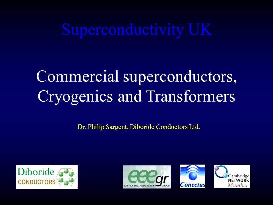 This Talk Materials Review and price predictions BSCCO MgB2 YBCO Cryogenics considerations Superconducting Transformers