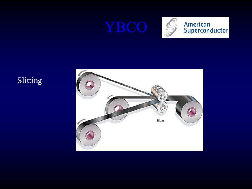 YBCO Slitting