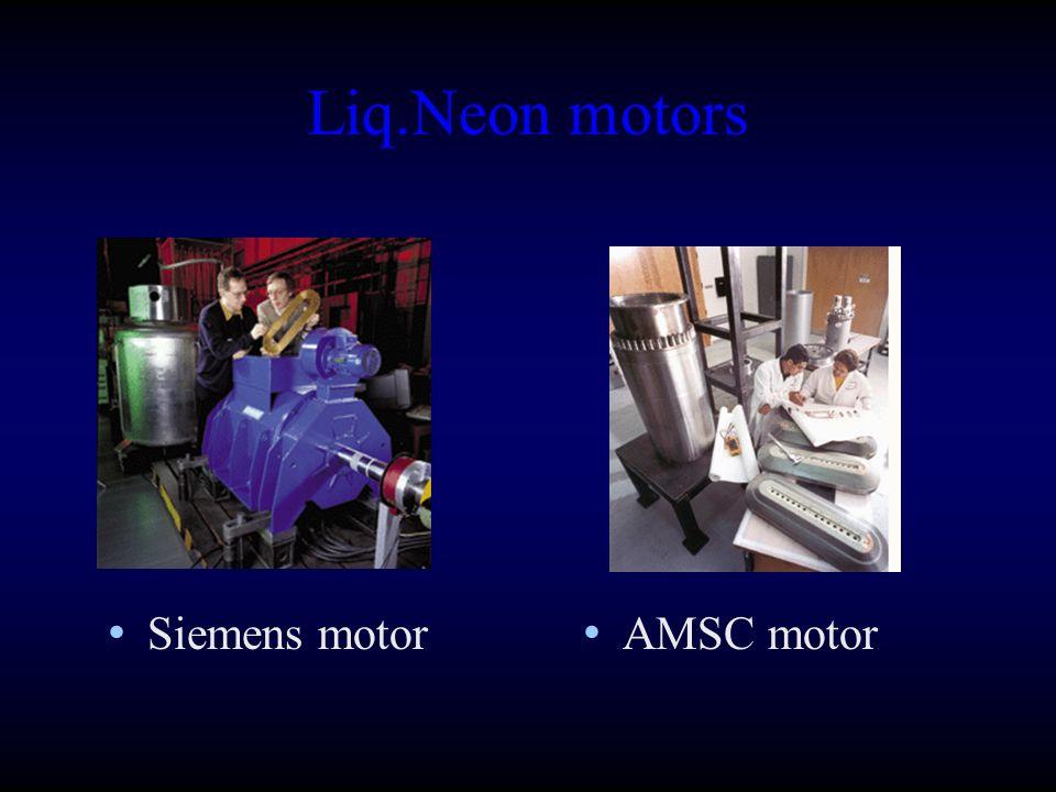 Liq.Neon motors AMSC motor Siemens motor