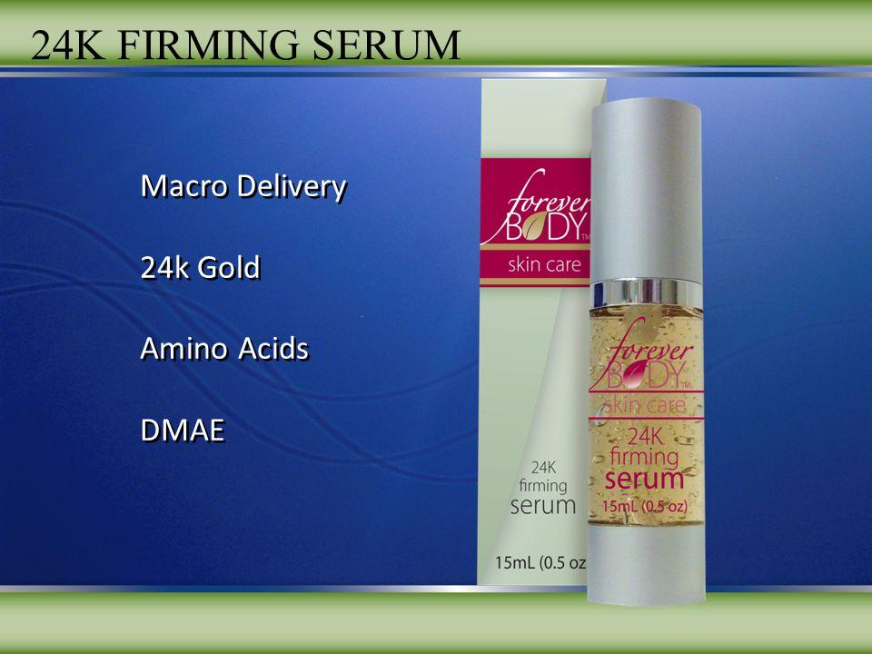 Macro Delivery 24k Gold Amino Acids DMAE Macro Delivery 24k Gold Amino Acids DMAE 24K FIRMING SERUM
