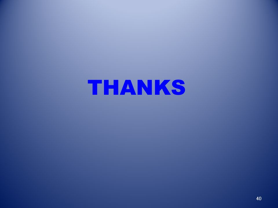 THANKS 40