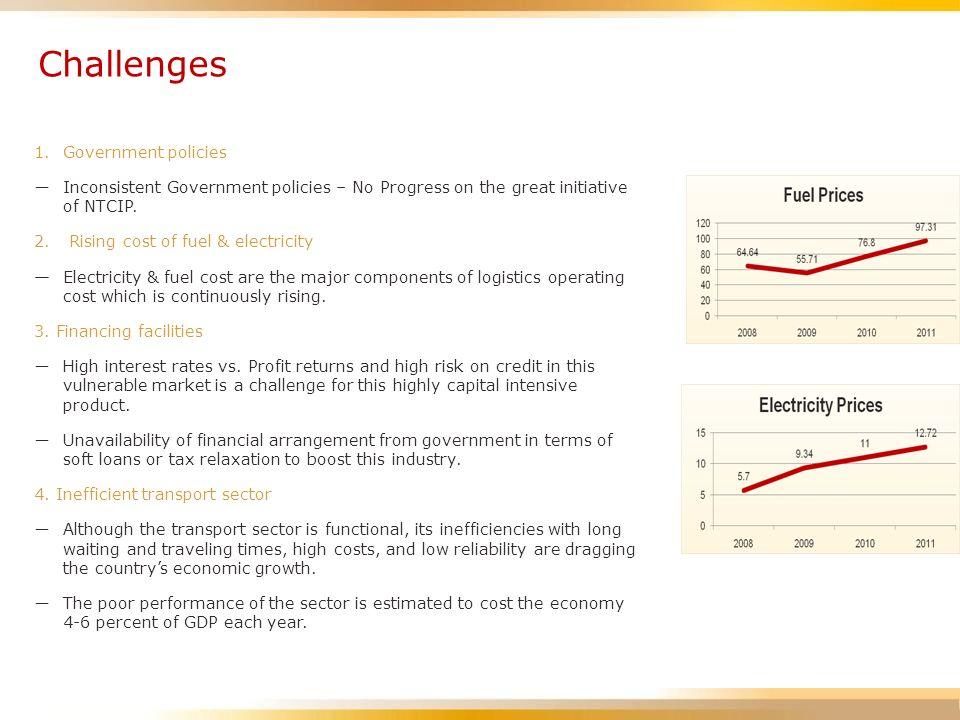 Challenges : 5.