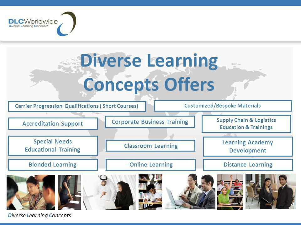 Diverse Learning Concepts Diverse Learning Concepts Offers Blended Learning Online Learning Corporate Business Training Special Needs Educational Trai