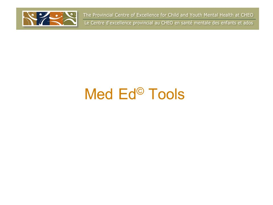 Med Ed © Tools