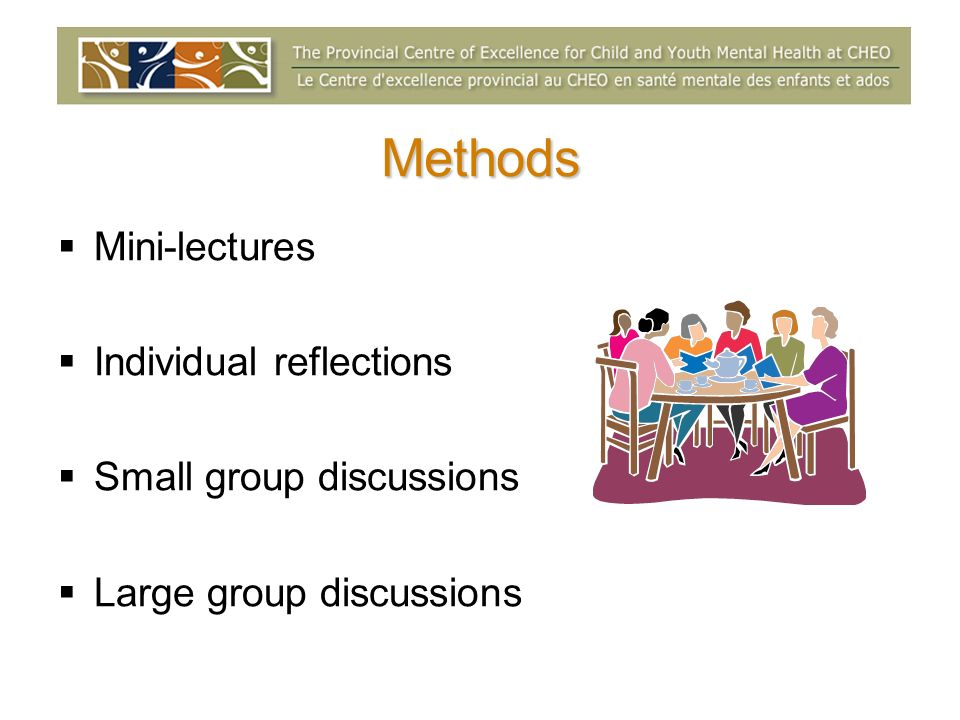 Phase 4: Implement Members select propositions they wish to work on Monitor, evaluate and celebrate progress Keep the conversation ongoing