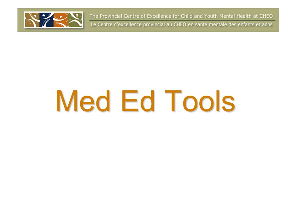 Med Ed Tools