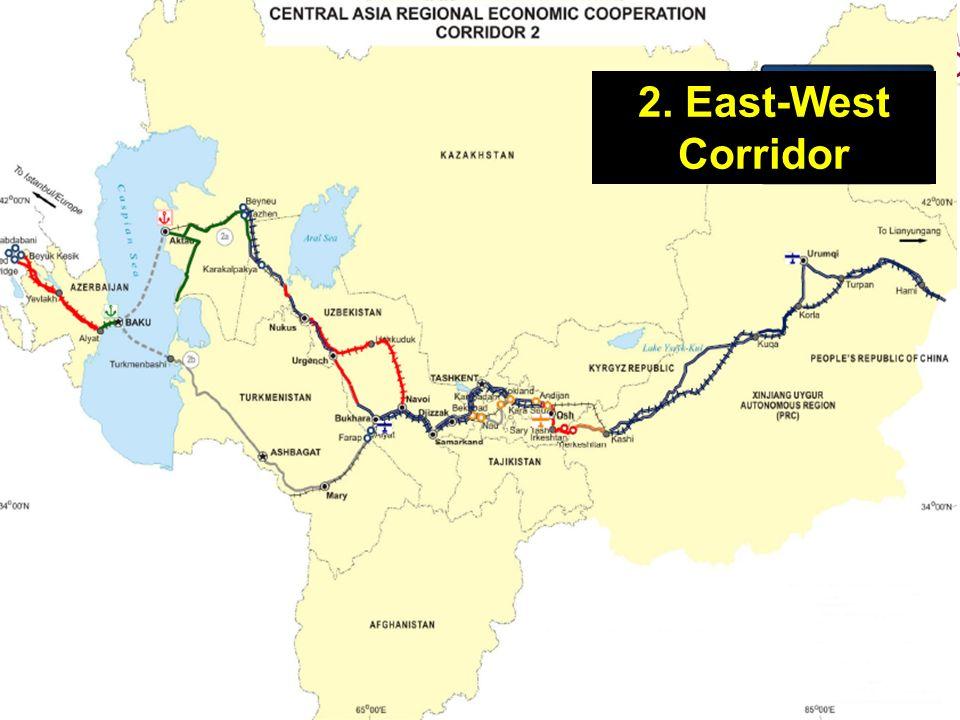 2. East-West Corridor
