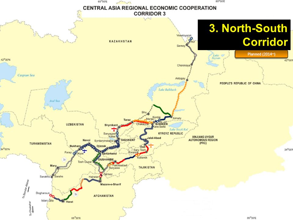 3. North-South Corridor